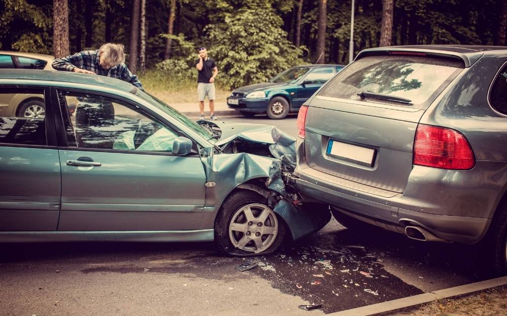passenger in a car accident